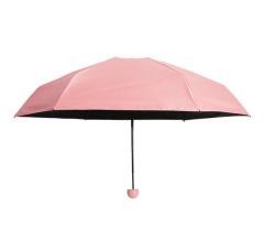 膠囊雨傘迷你太陽傘防曬五折傘折疊晴雨兩用 實用禮品
