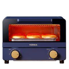 康佳(KONKA)   家用烘焙面包迷你小型10L电烤箱  生活小家电
