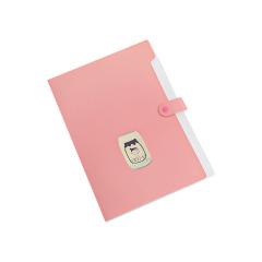简约莫兰迪风琴包 大容量多格办公资料文件夹 实用礼品
