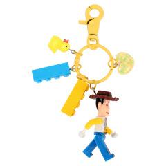 创意积木钥匙扣 手脚可活动 吸引客户的小礼品有哪些