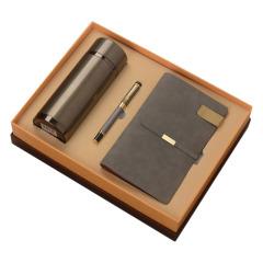 禮盒三件套 保溫杯+簽字筆+筆記本 商務禮品大全
