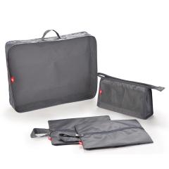ZUEI 起程收纳袋四件套装 灰色耐脏收纳套装 会员礼品定制