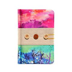 【印象西湖】丝绸笔记本 灵感设计 杭州西湖旅游纪念品
