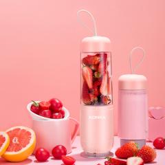 康佳(KONKA) 家用迷你果蔬电动果汁杯便携式榨汁机   生活小家电
