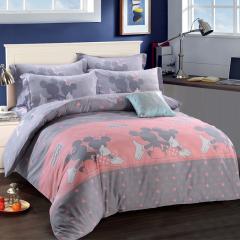 迪士尼(Disney)卡通纯棉床上四件套 2米床上套件 家居礼品 企业福利