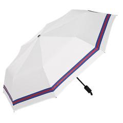 創意遮陽傘 小清新條紋傘 三折黑膠傘防曬防紫外線太陽傘