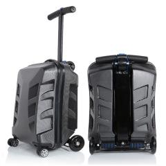 20寸創意滑板車商務拉桿箱 旅行行李箱 商務出差禮品定制