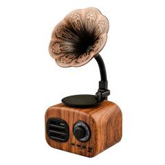 潮流复古留声机蓝牙音箱 多种颜色可选 全频扬声器大容量电池 互联网公司创意礼品