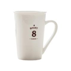 马克杯定制 广告杯 咖啡杯 茶杯 陶瓷水杯(8号亮光)300ML 培训小礼品