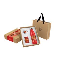 【老北京故事】特色三件套 保溫杯+化妝鏡+名片盒  紀念禮品