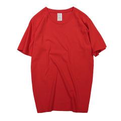 春夏纯棉广告衫 个性宽版短袖T恤 班服定制 团体文化衫