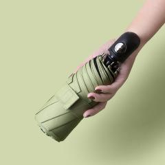 全自动黑胶遮阳防晒伞 迷你口袋晴雨两用雨伞 适合夏天的礼品