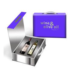 【如意礼盒】春节礼盒套装 红葡萄酒+初榨橄榄油 春节给员工送什么