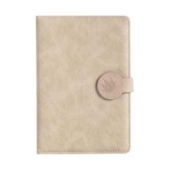 皮面磁扣本 商务笔记本 简约PU学生可爱手帐本日记本 校招创意礼品 春季促销品