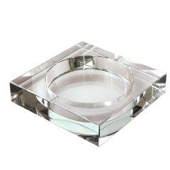 【煙灰缸】K9水晶煙灰缸   10cm禮品定制企業LOGO