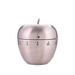 创意生活不锈钢鸡蛋苹果家用厨房机械式定时提醒器       家用小礼品