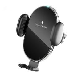 YOPIN出风口通用车载无线充电器智能感应无线充手机支架  汽车礼品定制