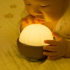 充电山竹小夜灯 混合光儿童婴儿喂奶护眼起夜灯 小活动送什么奖品