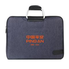 简约商务公文包手提包 旅行出差外出电脑包 企业周年庆礼品定制
