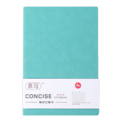 复古羊巴皮软皮笔记本 简约纯色记事本日记本 展会一般给什么小礼品