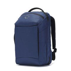 DELSEY法国大使 拉杆箱开盖式背包 纯色商务旅行背包  中秋节送什么好  送领导礼品