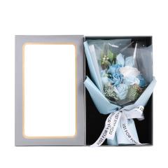 【时光】创意冷美人玫瑰花花束 香皂花礼盒 女神节礼品