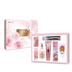 LG生活健康 花叢漫步禮盒韓國進口7件套 日用品禮品盒 伴手禮一般送什么