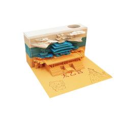 太乙宫立体模型便签纸  公司活动个性奖品