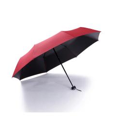 黑胶折叠广告伞 防紫外线全遮光晴雨两用伞 员工福利奖品