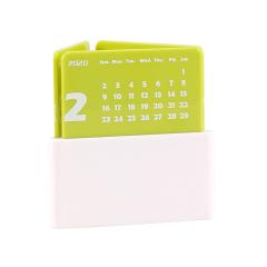 时尚菱形桌面台历 2020年多功能日历笔筒 简约桌面摆件礼品