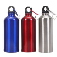 纯色铝便携运动水壶 广告不锈钢壶 安全生产宣传小礼品