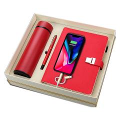 商务简约充电笔记本礼盒 充电本+保温杯+笔 适合公司举办活动发的奖品