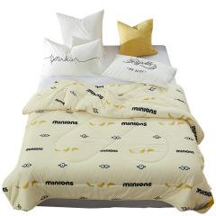神偷奶爸小黄人 水洗棉舒芯被四季通用环保印染棉被 房地产礼品方案
