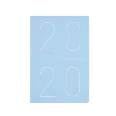 2020時尚簡約周計劃本 嬰兒面皮料筆記本 創意商務辦公禮品