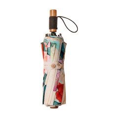 蕉下(BANANA UNDER) 江南系列 四季彩 牡丹典雅复古晴雨两用折叠伞防紫外线 高档礼品有哪些