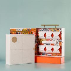 【现货空礼盒】2021年中秋节创意月饼礼盒定制 6粒8粒装高档手提礼盒 适合中秋用的产品