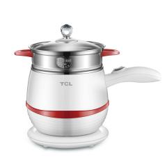 TCL 小巧精致多用电煮锅电蒸锅 客户礼品赠送方案