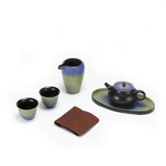 【故宫博物院】千里江山茶具套装  送客户的礼品有哪些