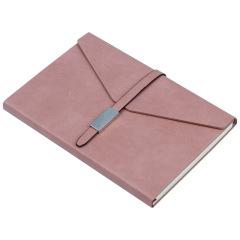 个性简约三折皮面笔记本 A5皮面记事本 实用礼品
