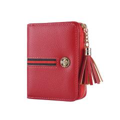 女士短款钱包欧美风琴零钱多卡位证件卡套   促销礼品 公司