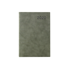 【2020年】商务羊巴皮日程本 效率手册计划本 质感皮质封面 内页简约笔记本子定制LOGO 商务礼品笔记本