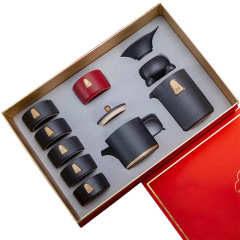 商务高端陶瓷茶具礼盒套装  高端礼品 公司活动送什么礼品好