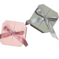 网红ins风八角伴手礼礼盒香水小礼物包装盒logo定制