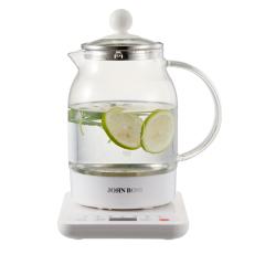 JOHN BOSS(英国)家用玻璃多功能养生壶 烧水花茶甜品多合一热水壶 小家电行业促销活动