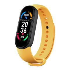 经典磁吸智能运动手环6 计步心率监测健康手环 送客户礼品定制