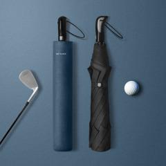 RAY HORSE 商務兩折高爾夫傘 簡約素色抗風加固雨傘 加大商務雨傘 金融商務禮品