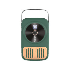 PISEN品胜复古大容量10000毫安移动电源 创意手提便携充电宝 社团活动奖品买什么好