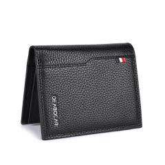 男士短款钱包商务休闲驾驶证多功能大容量短钱夹   促销礼品 公司