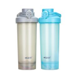 運動健身水杯 蛋白粉搖搖杯 帶刻度攪拌杯 大容量太空杯 750ML