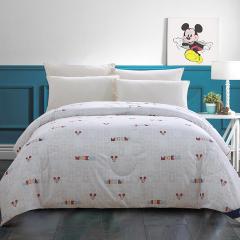 迪士尼(Disney)魅力米奇羽丝棉被1.5米 磨毛平纹印花被 团队礼品
